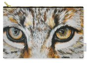 Eye-catching Bobcat Carry-all Pouch by Barbara Keith
