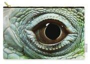 Eye Of A Common Iguana Iguana Iguana Carry-all Pouch
