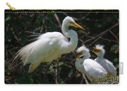 Eye Of The Egret Carry-all Pouch