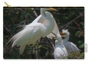 Eye Of The Heron Carry-all Pouch