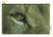 Eye Of The Lion Carry-all Pouch