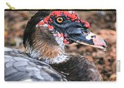 Eye Of The Muscovy Duck Carry-all Pouch