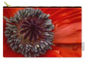 Eye Of The Poppy Carry-all Pouch