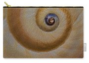 Eye Of The Snail Carry-all Pouch by Susan Candelario