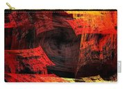 Eye Of The Storm 2 - Blown Away - Abstract - Fractal Art Carry-all Pouch