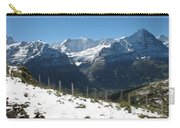 Eyeful Of The Eiger Carry-all Pouch