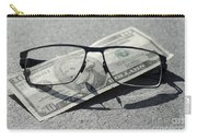 Eyeglasses And Money Carry-all Pouch