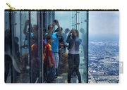Eyes Down From The 103rd Floor Neighbors Carry-all Pouch