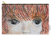 Eyes Of Innocence Carry-all Pouch by Eloise Schneider