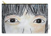 Eyes Of Love Carry-all Pouch by Eloise Schneider