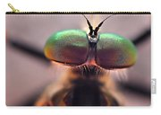 Eyes Of The Robber Fly Carry-all Pouch