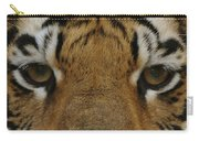 Eyes Of The Tiger Carry-all Pouch by Sandy Keeton