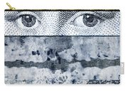 Eyes On Blue Carry-all Pouch by Carol Leigh