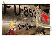 F-86d Sabre Dennis The Menace Carry-all Pouch