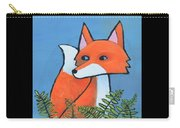 F Is For Fox Carry-all Pouch