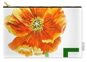 F Stands For Flower Art Alphabet For Kids Room Carry-all Pouch
