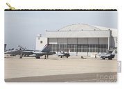 Fa-18 Hornets On The Flight Line Carry-all Pouch