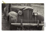 Fabulous Vintage Car Black And White Carry-all Pouch
