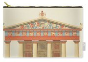 Facade Of The Temple Of Jupiter Carry-all Pouch