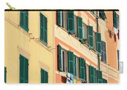 facades in Camogli Carry-all Pouch