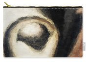 Face Embossed Carry-all Pouch