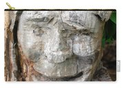 Face In A Tree Carry-all Pouch