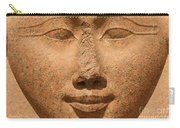 Face Of Hathor Carry-all Pouch