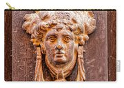 Face On The Door - Square Crop Carry-all Pouch