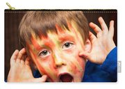 Face Paint Carry-all Pouch by Tom Gowanlock