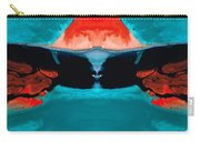 Face To Face - Abstract Art By Sharon Cummings Carry-all Pouch