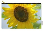 Face To Face With A Sunflower Carry-all Pouch