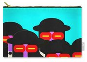 Faces In A Crowd Carry-all Pouch