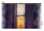 Faded Purple Stained Glass Window Photo Art Carry-all Pouch