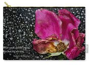 Faded Rose - Youth And Age Carry-all Pouch