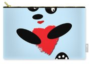 Fading Like A Flower. Panda In Love. 02 Carry-all Pouch