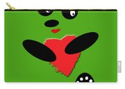 Fading Like A Flower. Panda In Love. 03 Carry-all Pouch