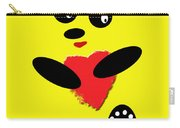 Fading Like A Flower. Panda In Love. 06 Carry-all Pouch