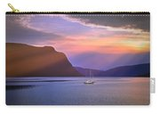 Fading Of The Light Carry-all Pouch by Edmund Nagele