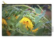 Fading Sunflower Carry-all Pouch