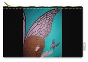 Faerie And Butterfly Carry-all Pouch