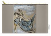 Faery And The Stork - Prints Carry-all Pouch