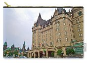 Fairmount Chateau Laurier East Of Parliament Hill In Ottawa-on Carry-all Pouch
