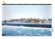 Fairmount Dam And Boathouse Row In Philadelphia Carry-all Pouch