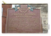Fairport Harbor Lighthouse Carry-all Pouch