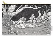 Fairy Circle Carry-all Pouch