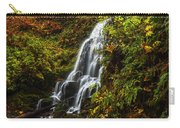 Fairy Falls Autumn In Columbia River Gorge Oregon Usa Carry-all Pouch
