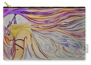 Fairy Princess Mixed Media Carry-all Pouch by Janice Rae Pariza