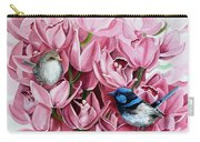 Fairy Wrens And Orchids Carry-all Pouch