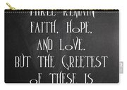 Fait Hope Love Carry-all Pouch