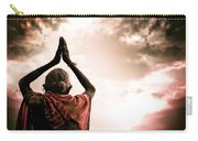 Faith And Prayers For Peace Carry-all Pouch by Nila Newsom